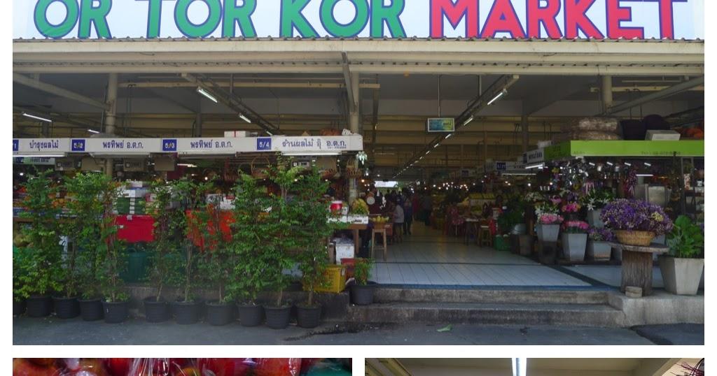 HUNGRY HOSS: Or Tor Kor Market, Bangkok