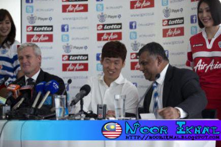 Park Ji-Sung Sah Menyertai Queens Park Rangers (QPR)