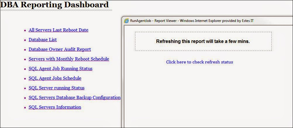 how to create variables for a report on report writer