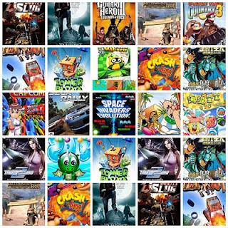 Baixar Pack de Jogos para Celular Alcatel OT-710 - 320x240 Grátis