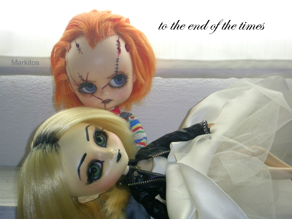 Semilla de tetas chucky tiffany doll