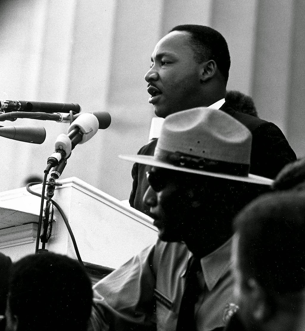 Martin Luther King, Jr. giving his Dream Speech