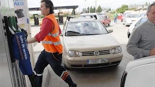 Los carburantes bajan los lunes