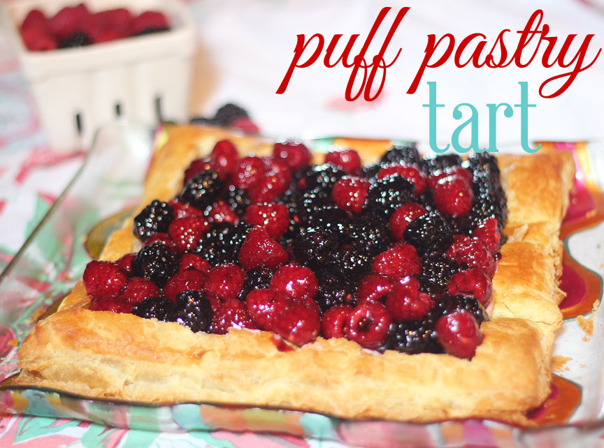 Pastry Cream Filling For Fruit Tart Easy Puff Pastry Fruit Tart