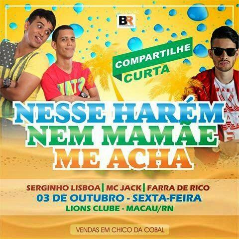 FESTA DO HAREN EM MACAU DIA 03-10-14 (SEXTA FEIRA)
