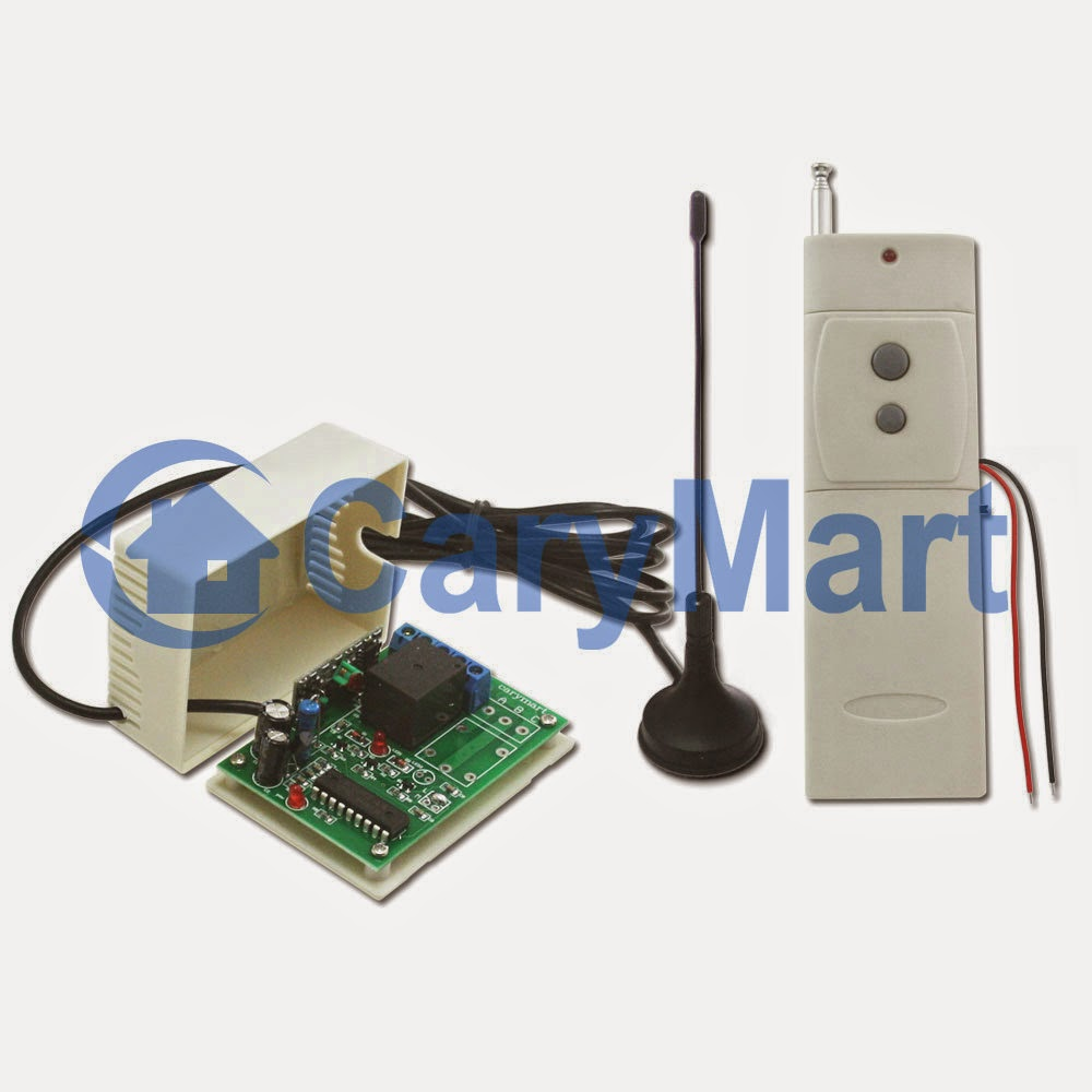 air horn is remote controlled by momentary switch rfcontrolsystemthere is only one channel at that relay on the receiver the output contacts of relay are normally open and closed working distance of transmitter and