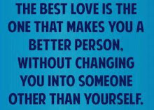 The BEST LOVE...
