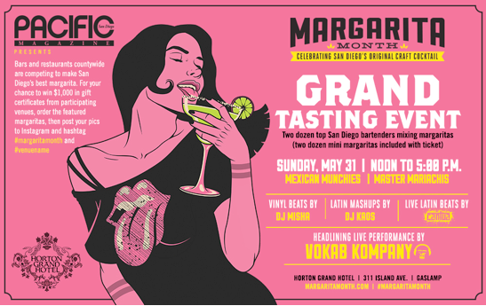 Save $5 And Win Tickets To Margarita Month Grand Tasting