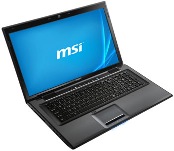 MSI CR70 17.3-inch Notebook