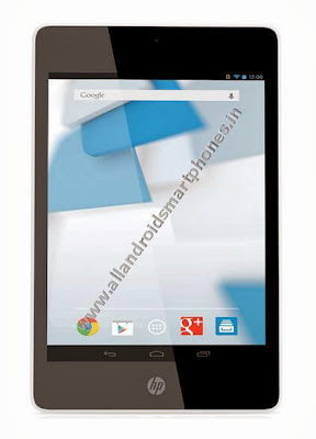 HP Slate7 Extreme Android Non Calling WiFi 7.0 Inch Tablet Front Black Images Photos Review