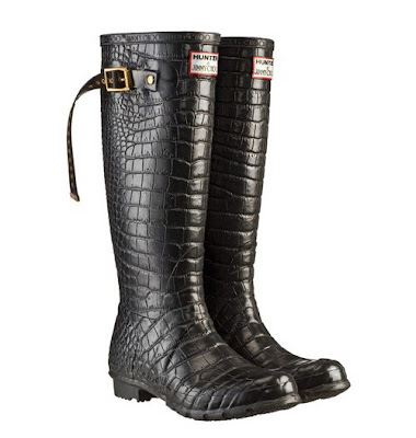 Hunter by Jimmy Choo boots - rainy weather - design shoes