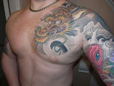 koi fish tattoo designs. Japanese Koi Fish Sleeve