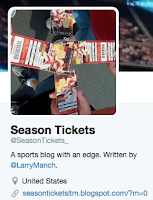 Season Tickets on Twitter