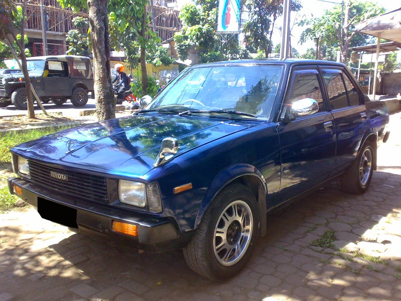 modifikasi toyota corolla dx biru
