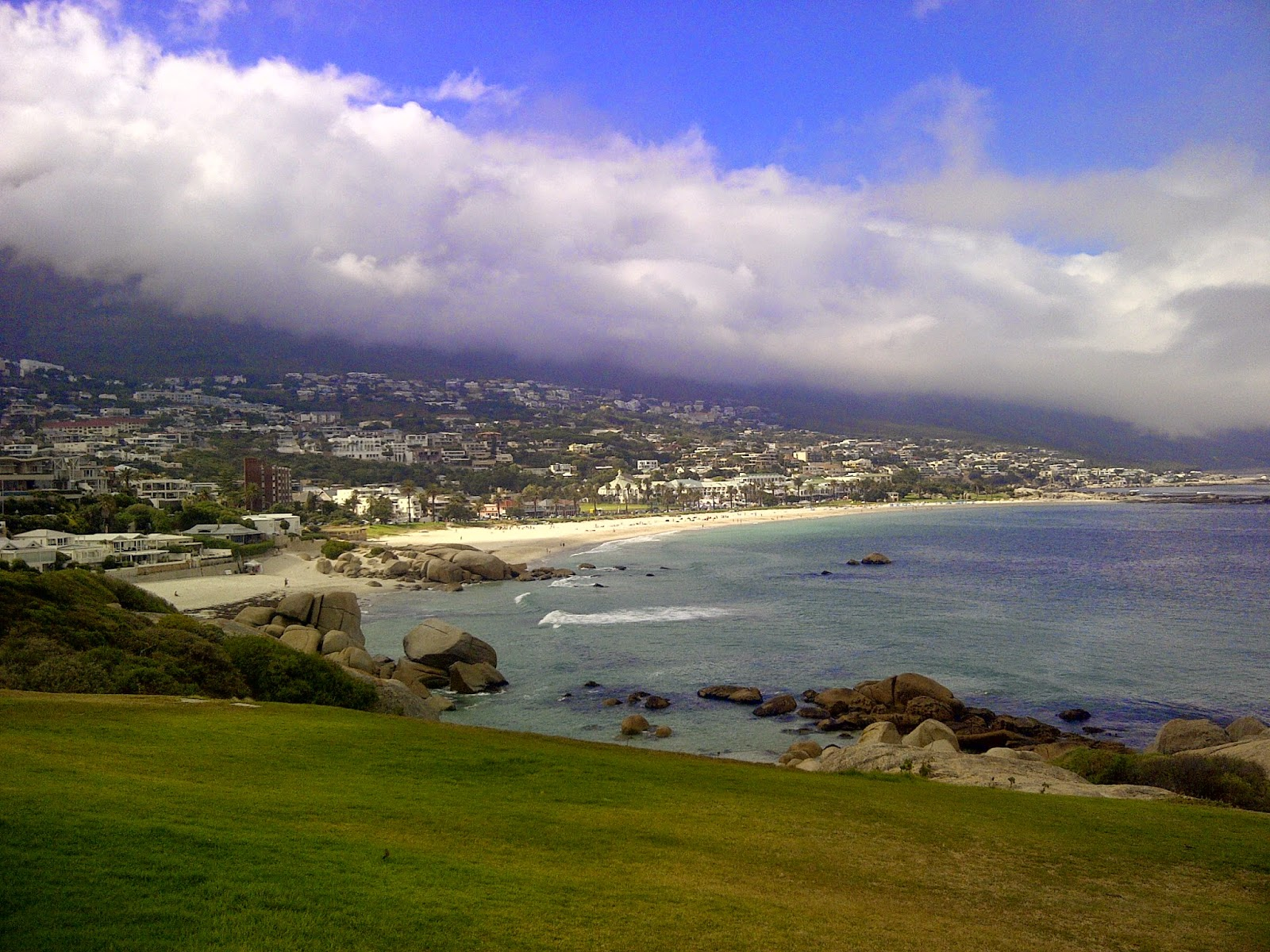Panorama von Camps Bay