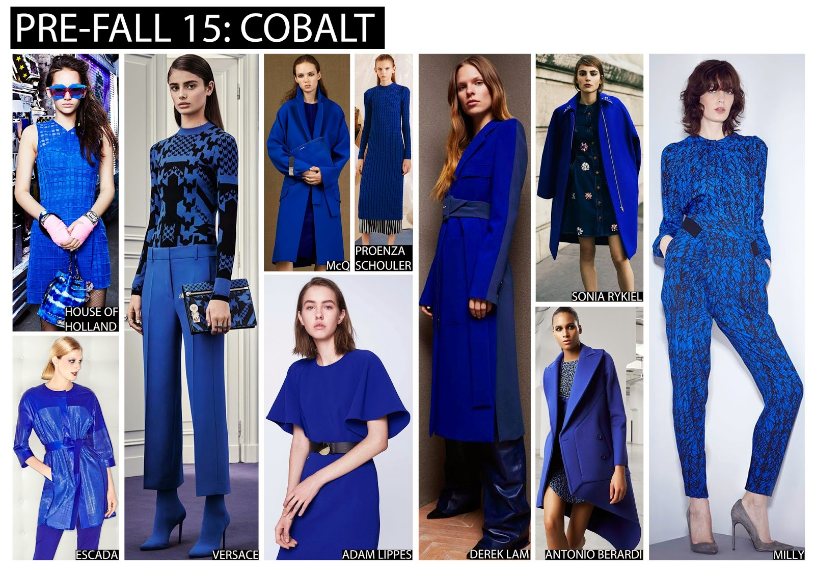 Textile Candy Pre Fall 2015 Colour Trends