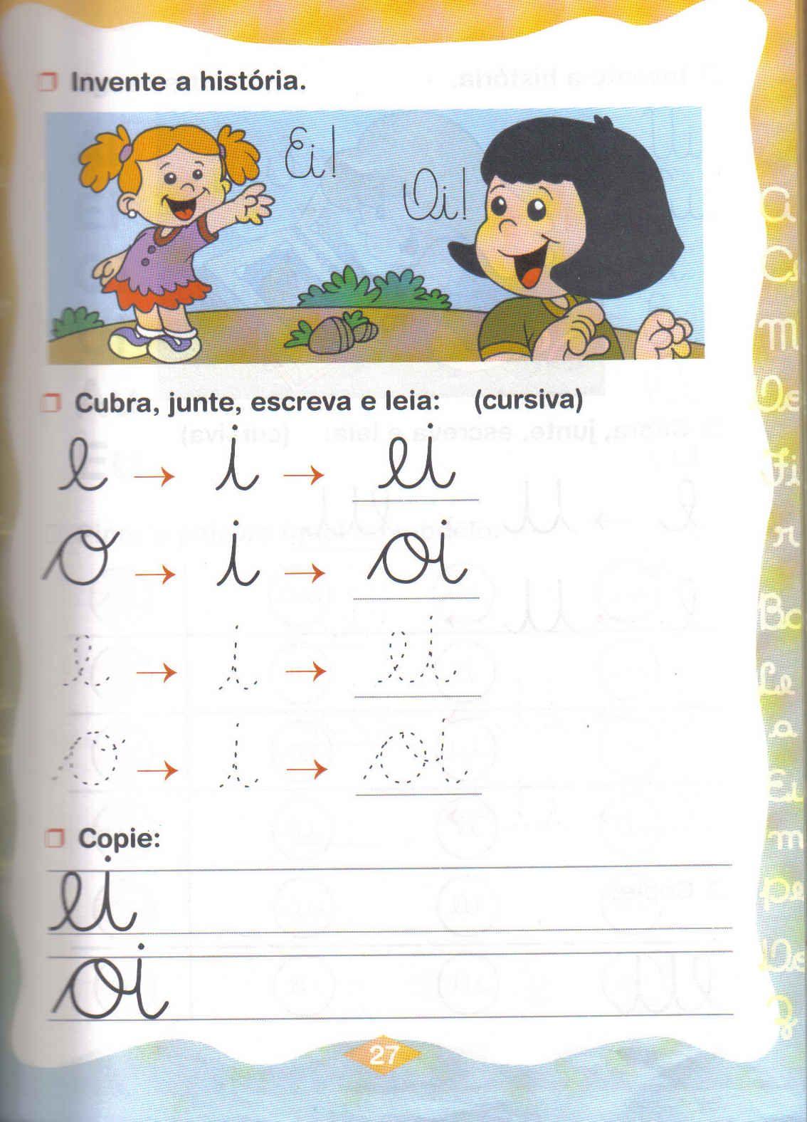 encontros vocálicos series inciais