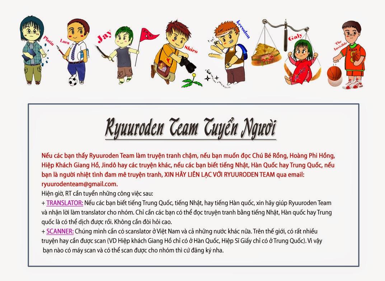 Chú Bé Rồng - Ryuuroden chap 181 - Trang 29