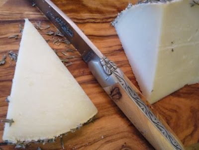 Slow Thyme organic goat-milk cheese from Hacienda Zorita