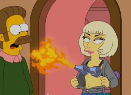#watch: Lady Gaga on The Simpsons Season Finale Lisa Goes Gaga full episode!