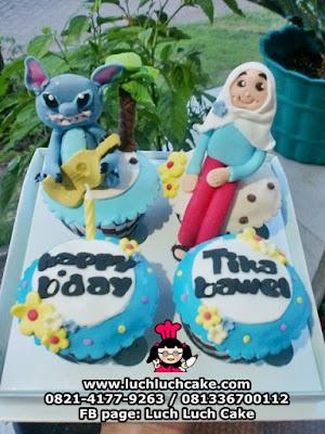 Cupcake Lilo and Stitch Daerah Surabaya - Sidoarjo