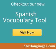 Free Spanish Vocabulary Online