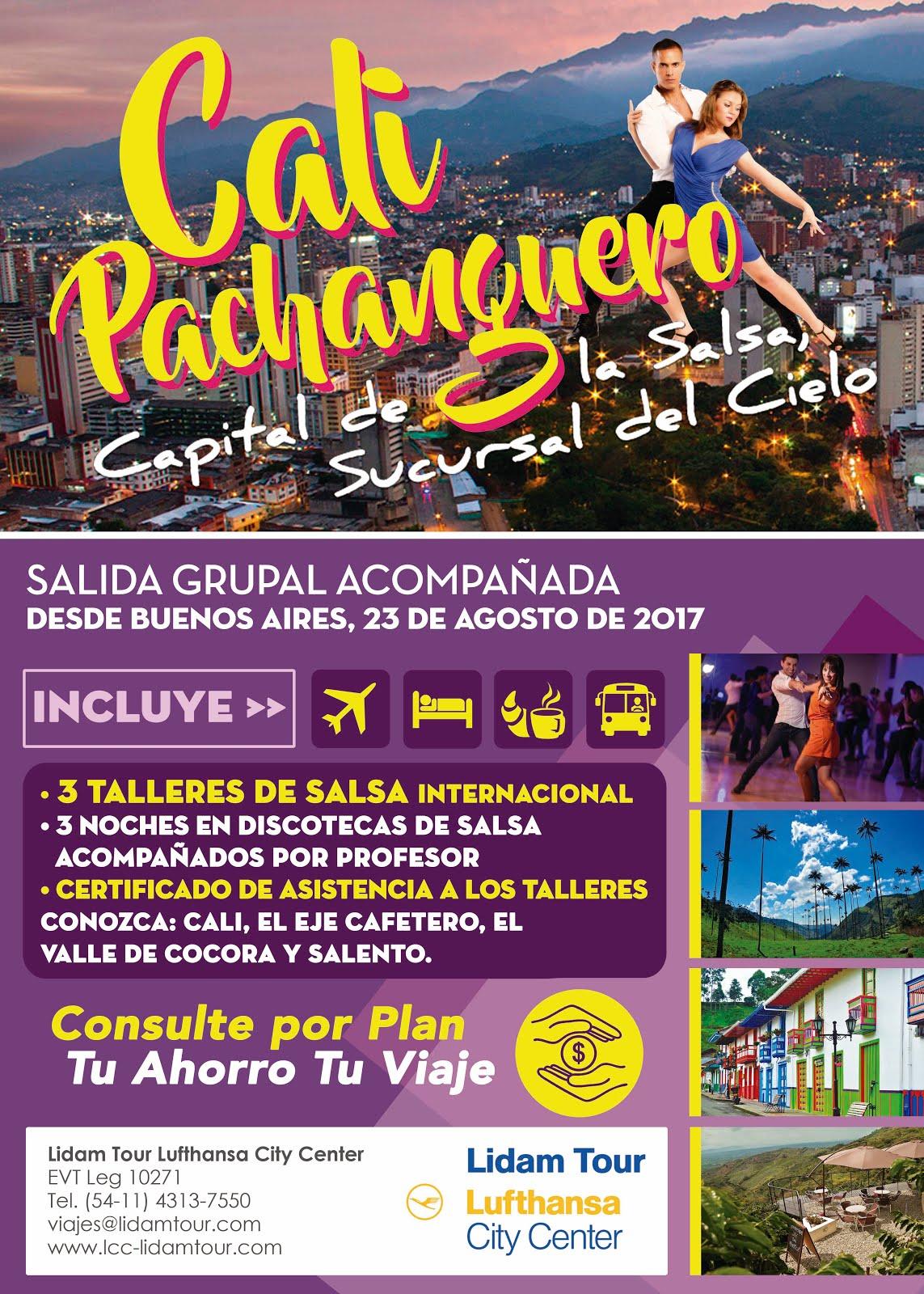 Tour Cali Pachanguero 2017