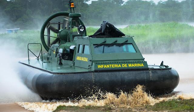 Armada Colombia Hovercraft