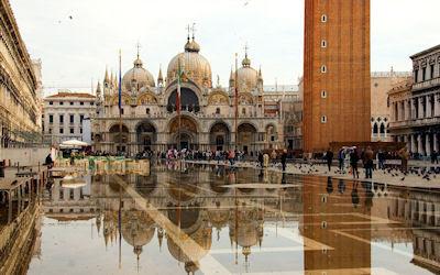 Basílica de San Marcos en Venecia, Italia. - St. Mark
