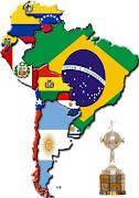 Qual será as cores da América do Sul depois