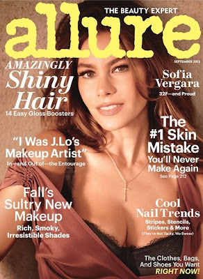 sofia vergara, sofia vergara allure magazine, sofia vergara photoshoot, sofia vergara magazine issue