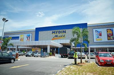 Pasaraya terbesar mall mydin mula dibuka di meru raya jelapang ipoh