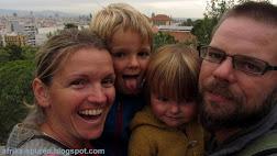 Anselm und Joe, Jim und Maya und Hund Oskar
