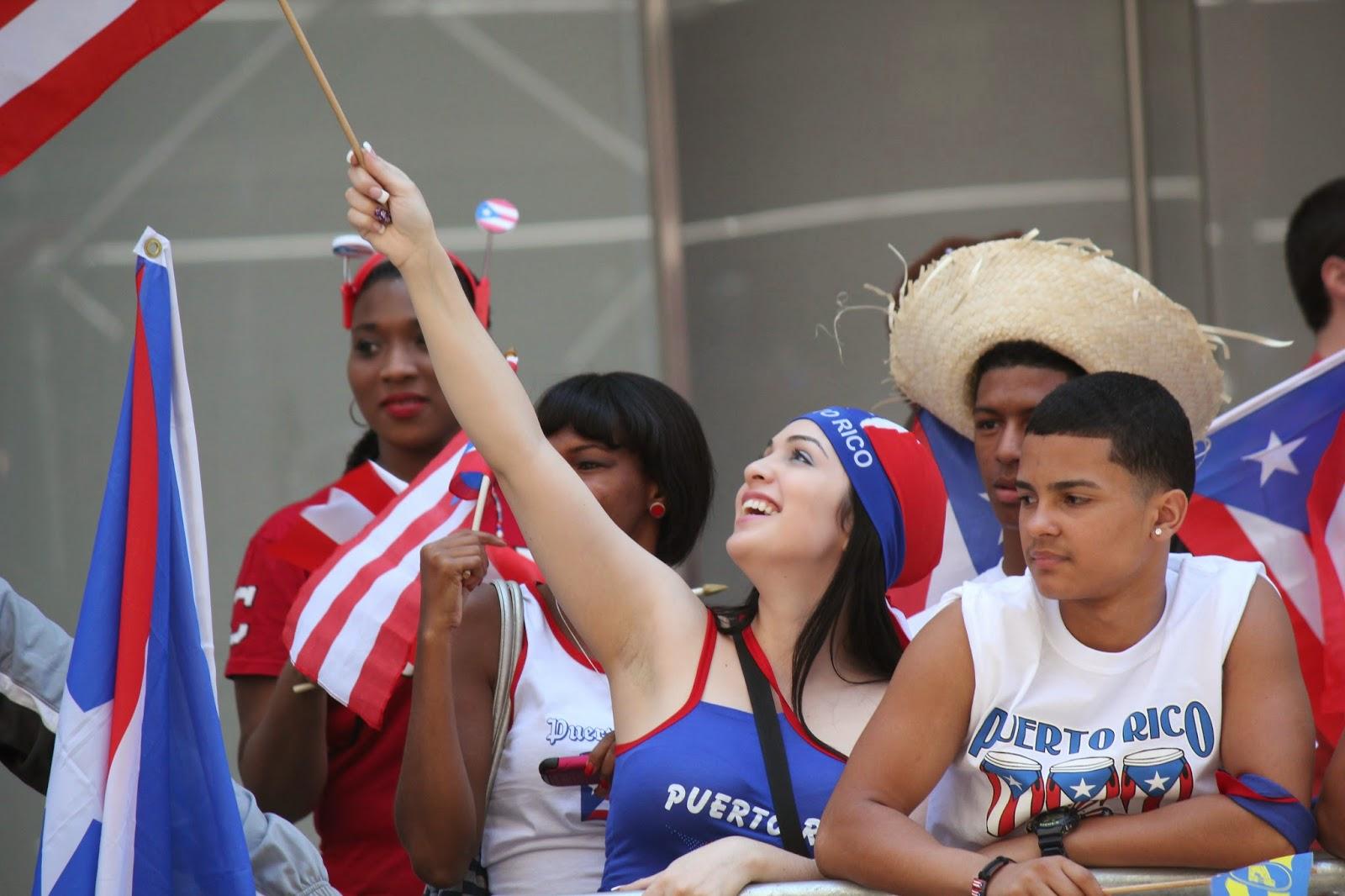 Desfile Nacional puertorriqueno de Manhattan, Nueva York USA