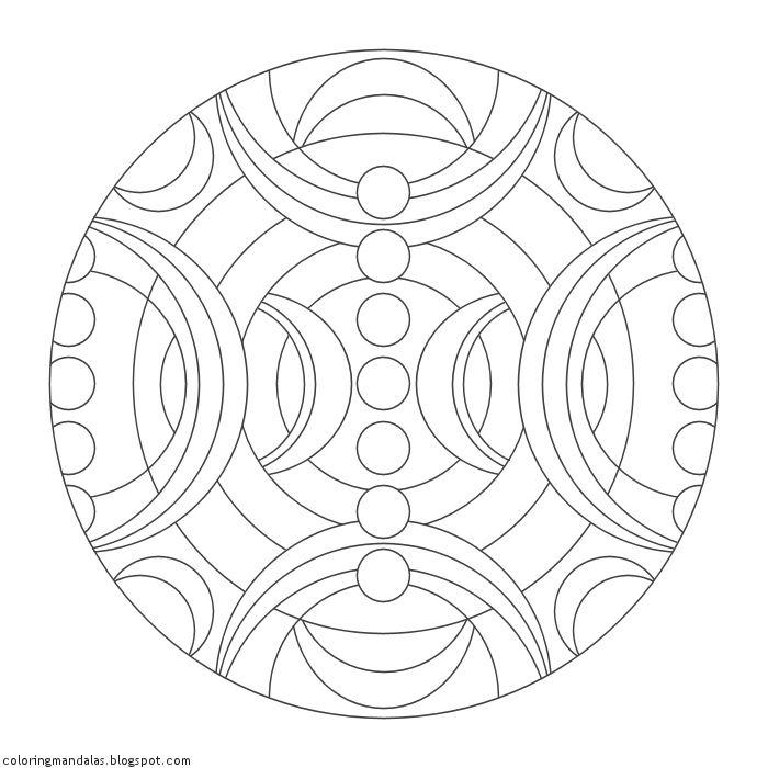 Coloring Mandalas 43 Divine Shield