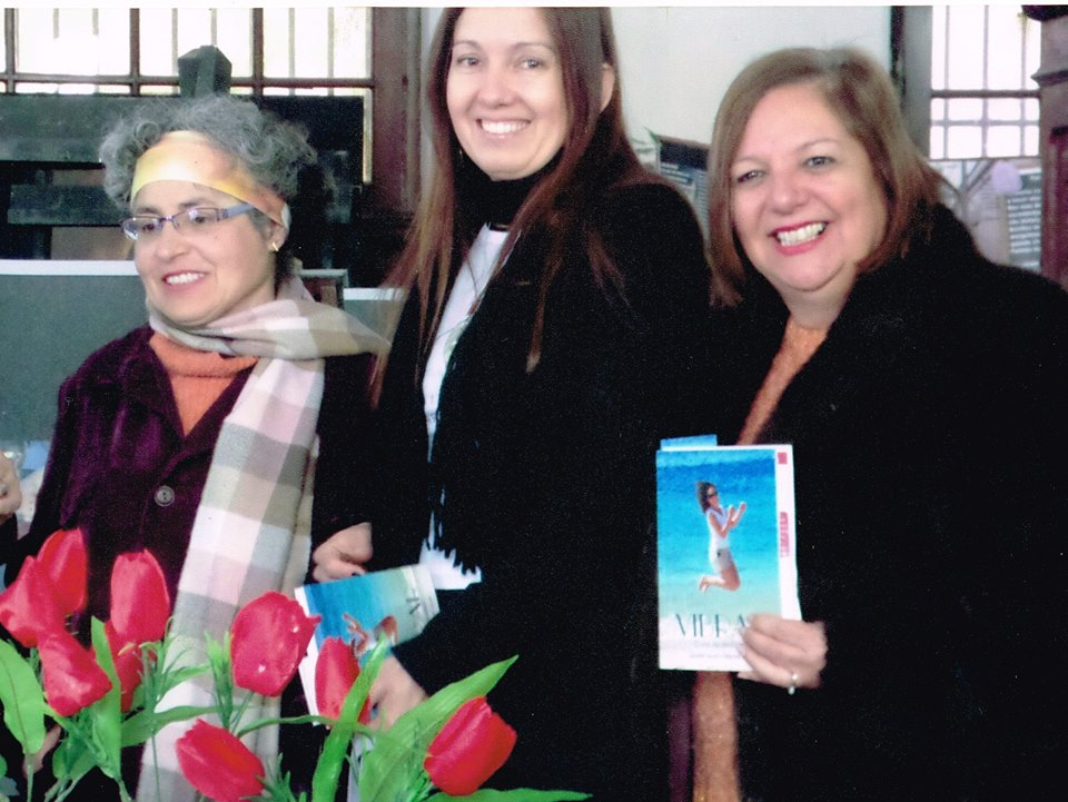 Marta Moussa, Eleonora Machado e Liane Machado