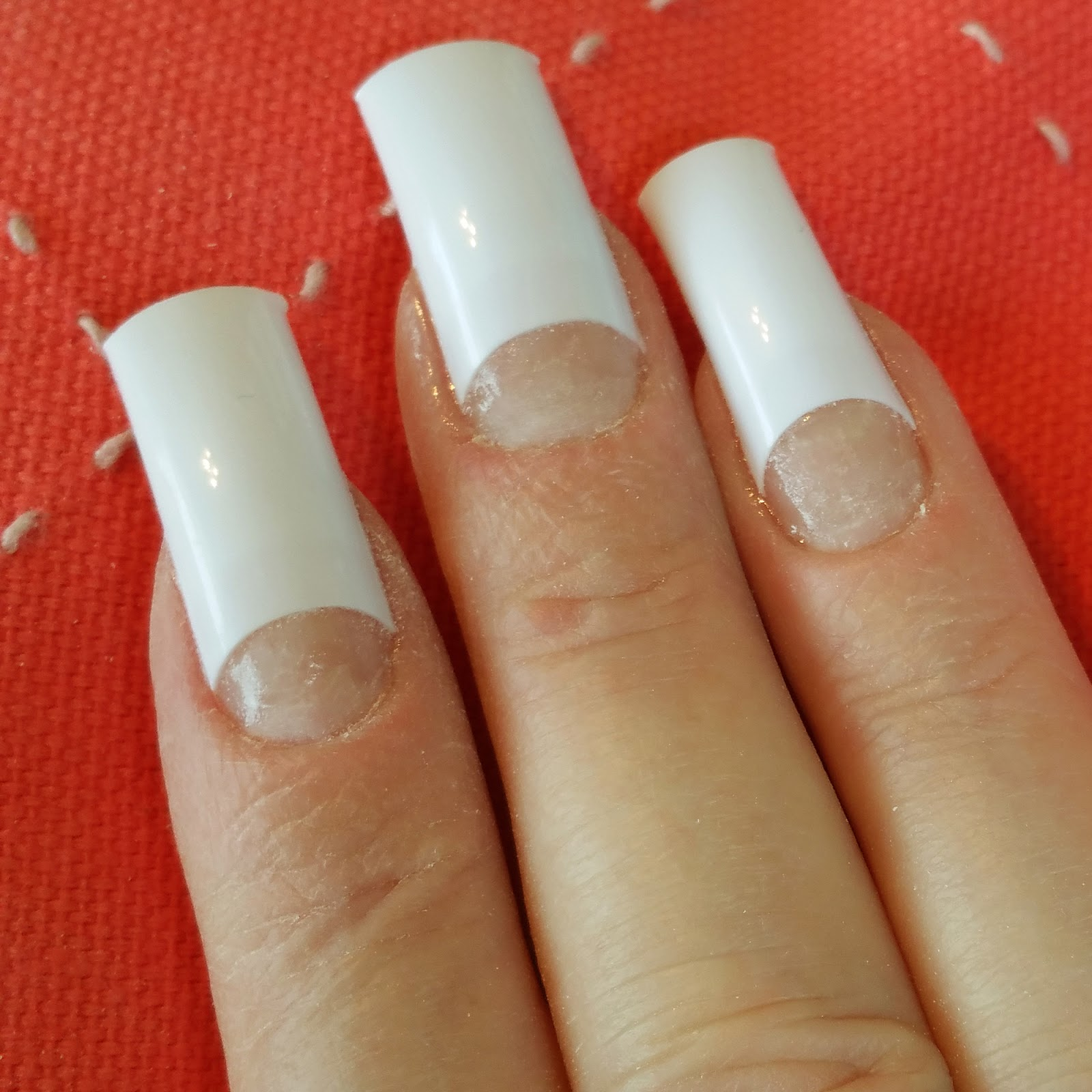 Nailways: EASY FRENCH TIP MANICURE NAIL ART