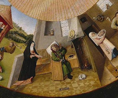 Sette peccati capitali - Hieronymus Bosch