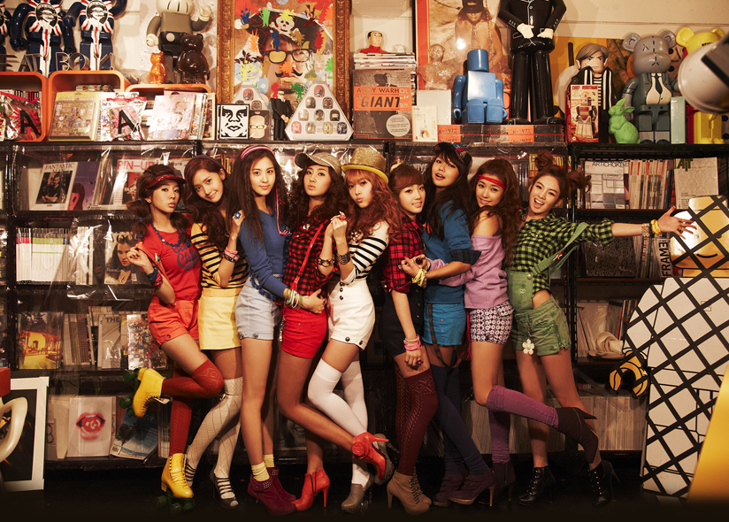 girls generation names and pictures. girls generation members with