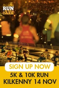 Run in the Dark 5k & 10k in Kilkenny... Wed 14th Nov 2018