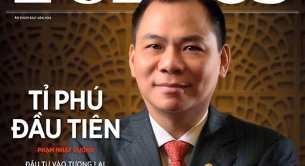 """Tài sản của tỷ phú Forbes Phạm Nhật Vượng """"khủng"""" cỡ nào?"""