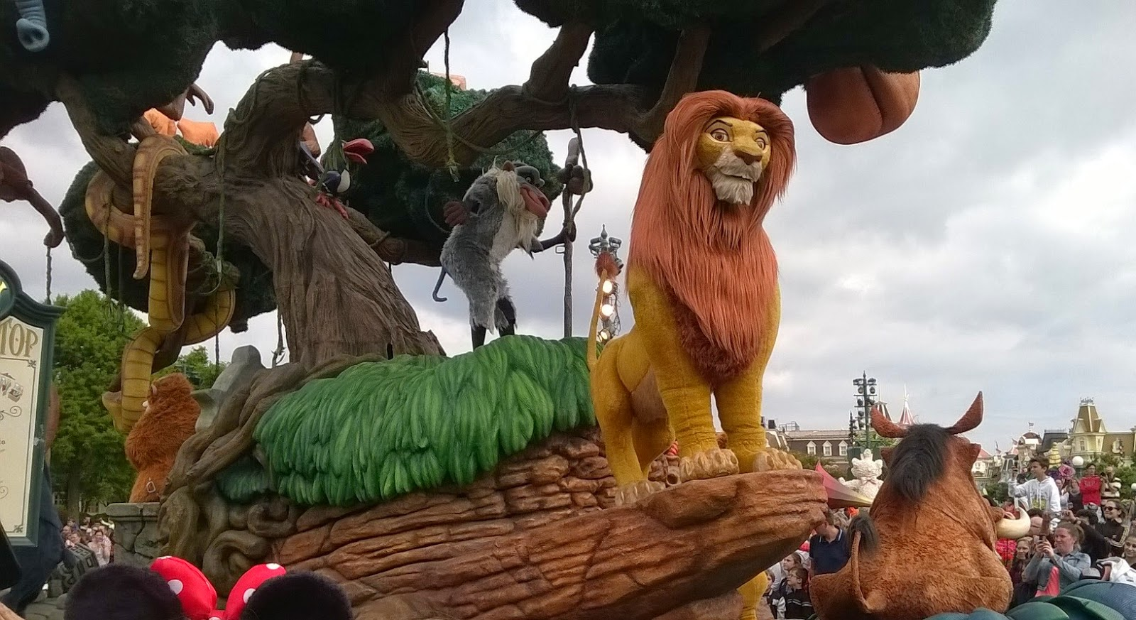 The Lion King Disneyland