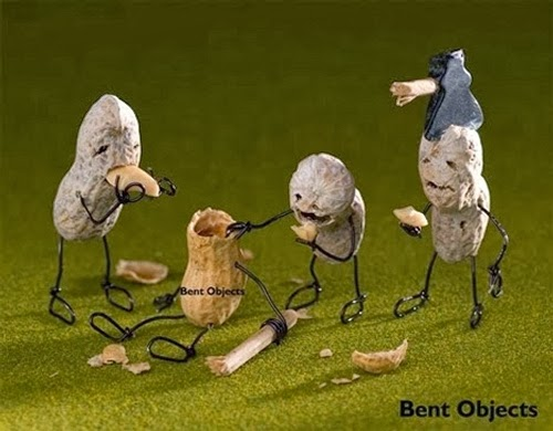 05-The-Peanut-Zombies-Terry-Border-Photographer-Bent-Objects-Sculptures-www-designstack-co