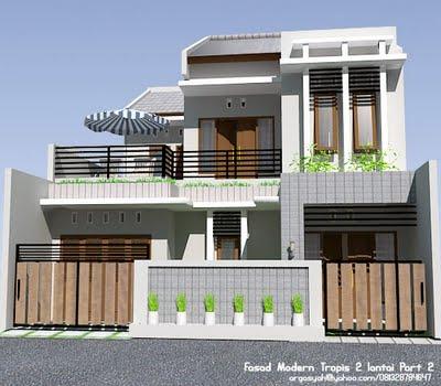 warna rumah minimalis on CONTOH RUMAH MODERN TROPIS | di Rumah Minimalis
