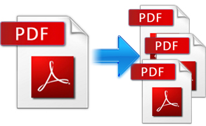 split pdf linux