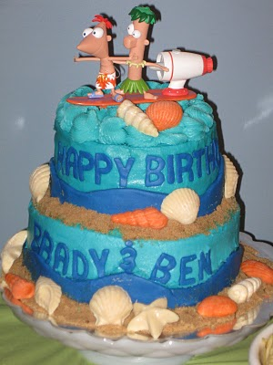 Tortas al estilo Phineas y Ferb | Fiesta101