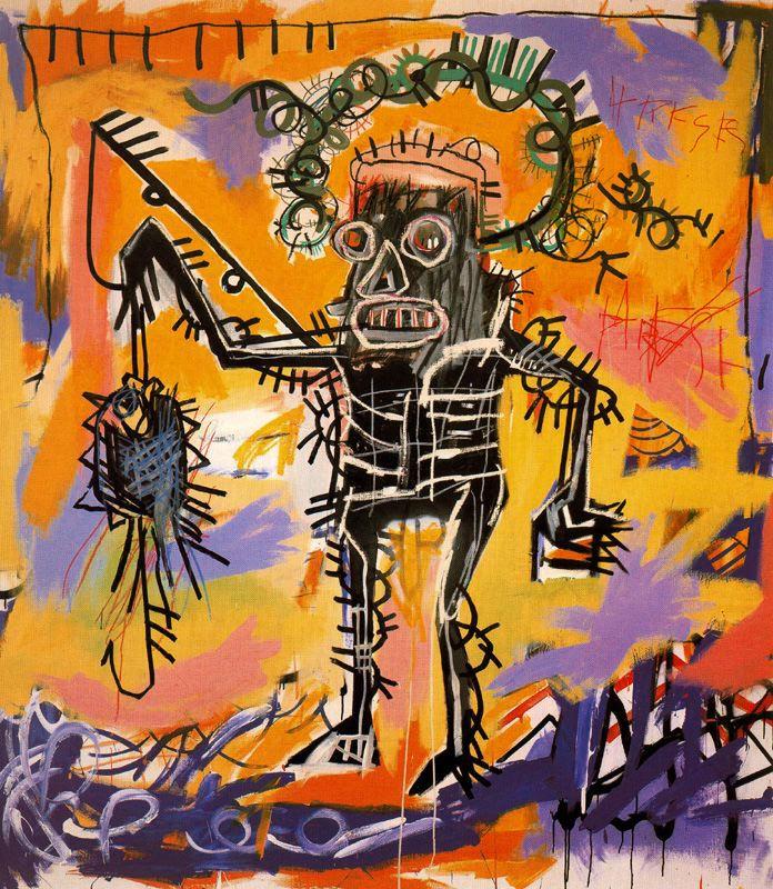 Golden Guns: Art is Life + Basquiat