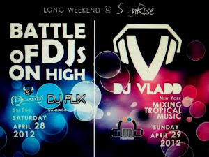 DJ VLADD @SUNRISE DOMINGO 29 DE ABRIL 2012
