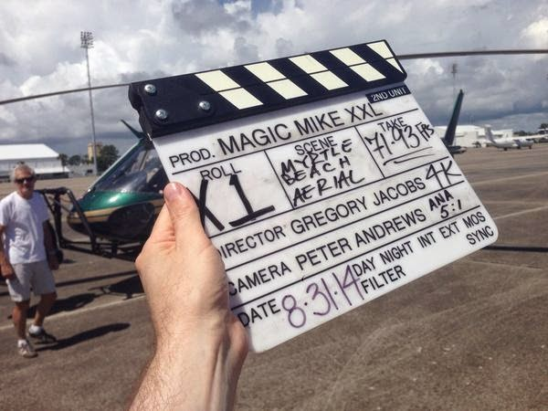 Magic Mike sequel begins filming
