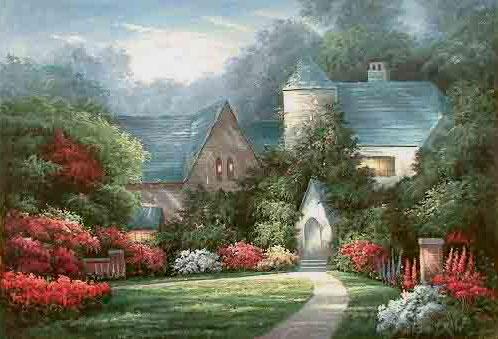 Thomas Kinkade Autumn Gate3